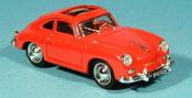 Porsche 356 1952 Coupe rosso geoffnetes Schiebedach