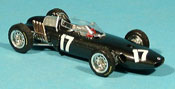 Miniature Brm P57   No.17 G. Hill GP Holland und Europa 1962