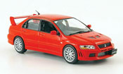 Mitsubishi Lancer Evolution VII  red 2001 IXO