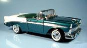 Chevrolet Bel Air 1956 miniature cabriolet mit echten ledersitzen