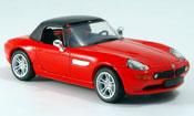 Bmw Z8 miniature rouge geschlossen 1999