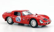 Alfa Romeo TZ2  miniature no.126 pinto todaro targa florio 1966