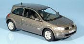 Renault Megane miniature grise 2003