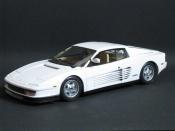 Ferrari tuning Testarossa Miami Vice white