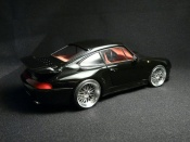 Porsche tuning 993 Turbo s black