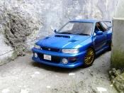 Subaru Impreza 22B wheels
