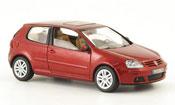 Volkswagen Golf V  red 3 portes 2003 Schuco
