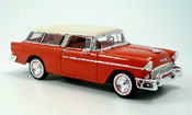 Chevrolet Nomad red white 1955