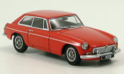 MG B GT Coupe MK II rosso 1969