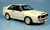 Audi Sport Quattro miniature swb blanche 1984