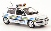Clio circulation paris police (fr) 2002