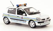 Renault Clio   circulation paris police (fr) 2002 Norev 1/43