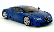 Bugatti Chiron blu