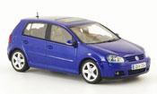 Volkswagen Golf V blue 5 portes 2003