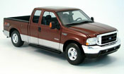 Ford F-350 miniature rouge/grise 2004