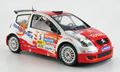 Citroen C2 miniature S1600 no.5 total jwrc 2004