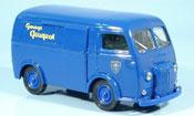 Peugeot D4A miniature bleu 1964
