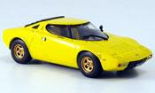 Lancia Stratos HF  jaune 1974 Vitesse