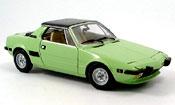 Fiat X 1/9 green 1974