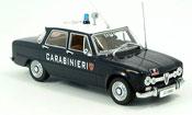 Alfa Romeo Giulia carabinieri italienische police 1970