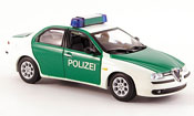 Alfa Romeo 156 police deutschland 1997