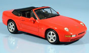 Porsche 968 miniature Cabriolet rouge 1994