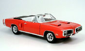 Miniature Muscle car Dodge Coronet 1970 r t rouge