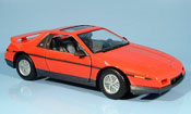 Pontiac Fiero gt red 1985