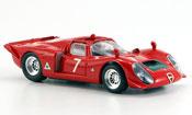 Alfa Romeo 33.2 1968 spyder no.7 facetti biscaldi mugello