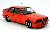 Bmw M3 E30  evolution cecotto rouge Autoart
