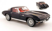 Chevrolet Corvette Stingray coupe (c2) blue 1963