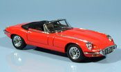 Jaguar Type E convertible serie iii v12 red
