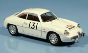 Alfa Romeo Giulietta no.131 tour de france 1960