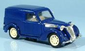 Fiat 1100 1949  E blau Kastenwagen Brumm