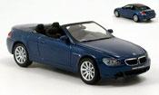 Bmw 645 E64 CI Cabriolet blue