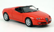 Alfa Romeo Spider red 2003