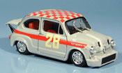 Fiat 600   Abarth 1000 No.28 Steinmetz Dritter Monza 1966 Brumm