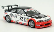 Bmw M3 E46 GTR Daytona Said Auberlen Marks Hand Jonsson 2004 Minichamps 1/43