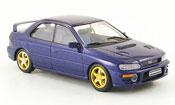 Subaru Impreza WRX miniature  bleu