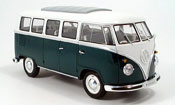 Volkswagen Combi bus, green/white 1962