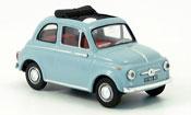 Fiat 500 D blue