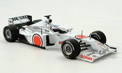 Honda F1 miniature BAR 002 T. Sato 1. Test Barcelona 2000