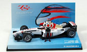 Honda F1 miniature BAR 005 T. Sato GP Japan 2002