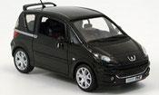 Peugeot 1007 miniature rc noire 2004
