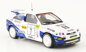 Miniature Rallye Ford Escort Cosworth RS No.7 Rally Finnland 1994
