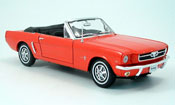 Ford Mustang 1964 convertible red offen