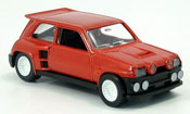 Renault 5 Turbo  maxi kit  rouge 1986 Solido