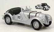 Bmw 328 miniature 1940 no.33 grise
