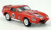 Shelby Cobra Daytona Coupe No.59 red 1965