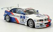 Bmw M3 miniature E46 GTR 2ter Nurburgring Lamy Said Huisman Stuck 2004